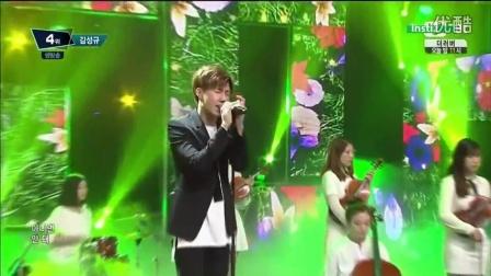 150528 Kim Sung Kyu (김성규) - The Answer (너여야만 해) 现场  M! Countdown