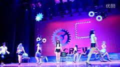 浙江农林大学05crew七周年街舞舞展 短裙舞娘