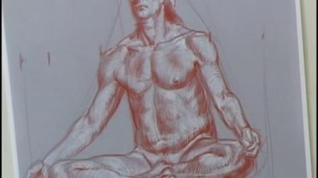 人体素描结构精细绘画技法讲解综合 (4)
