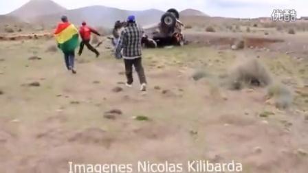 这样猛烈的车祸,车里两人竟然都没事,简直幸运!