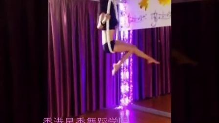 吊环舞视频 美女舞蹈表演暑假钢管舞培训爵士舞