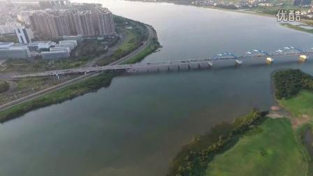 DJI精灵3穿越南渡江