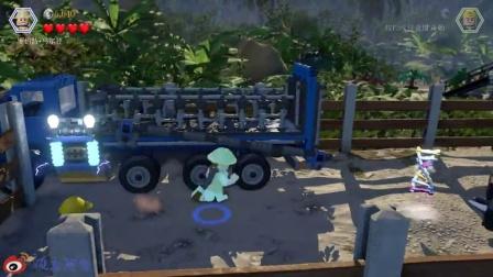 【顽主阿肯】乐高 侏罗纪世界 第二期 欢迎来到侏罗纪公园