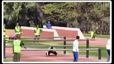 智利超给力的障碍接力赛!