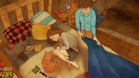 画风清新超暖超治愈韩国动画《爱是什么》
