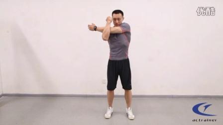 各种拉伸动作(包括胸部、背部、肩部、腘绳肌、小腿、肱三头肌、股四头肌等部位的拉伸集合)