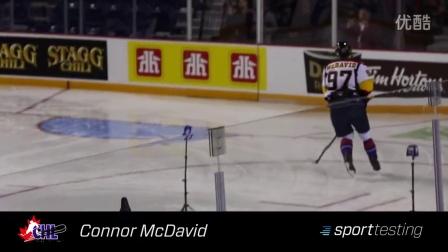 NHL 2015 状元 Connor McDavid 的滑行测试