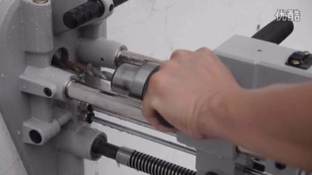 GPD-231 轻便型风动钻床,钻孔机(含真空吸盘固定座) - 濕式鑽孔