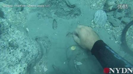 这是要发啊!潜水员在佛罗里达海岸发现价值100万美金的金币