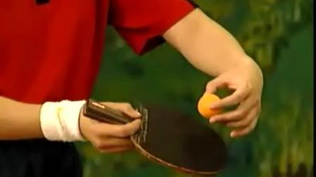 《乒乓球直拍》08 直拍反手发侧上下旋球