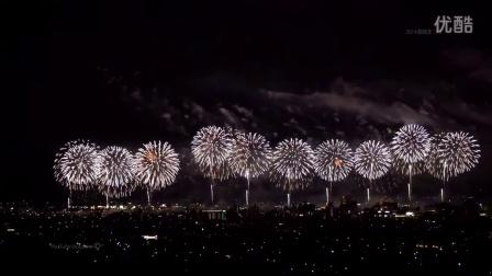 有日本第一花火大会之称的長岡花火,美的炸裂了!