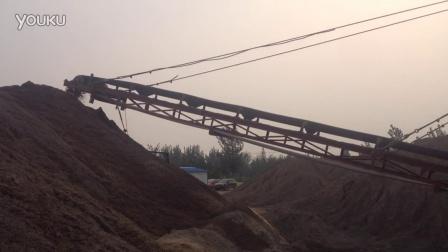 石粉洗砂机清洗工作现场视频