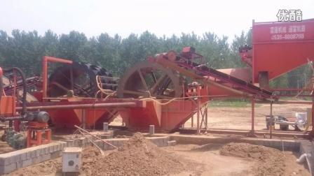 泰安富通洗砂生产线工作视频
