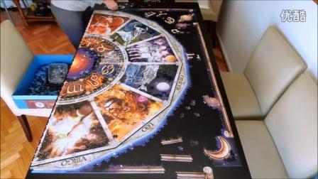 9000片的超大拼图,如果拼到最后少了一片会不会疯掉!
