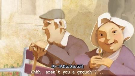 纯爱温馨淡雅水彩动画《你我故事的最后》