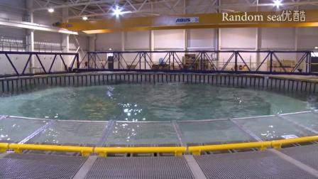一个可以产生各种水波的神奇水池