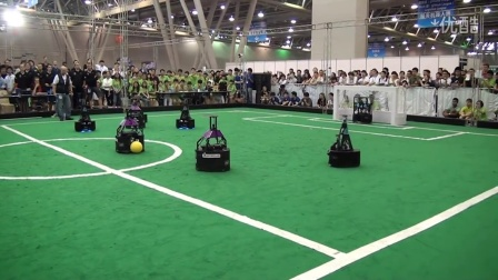 【Kinect足球比赛】RoboCup 2015 - Highlights MSL Final