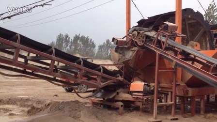 ag亚游娱乐网站机械大型洗砂机工作视频2