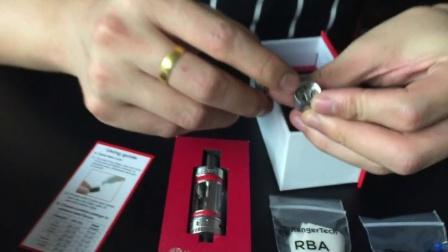 电子烟SUB MINI TANK雾化器测评DIY大烟雾戒烟产品