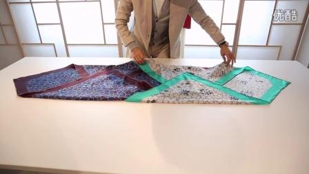 「上下」丝巾 造型小课堂(2)