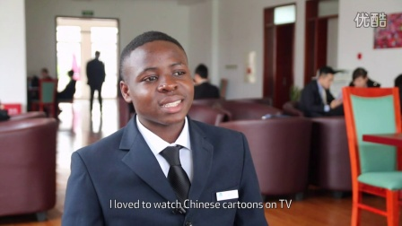 2 minutes with ... Jacques Cabrel Taye (Cameroon), Les Roches Jin Jiang student