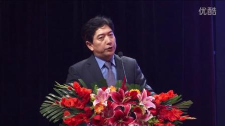 第二届和苑和平节中国著名电视主持人水均益发表演讲