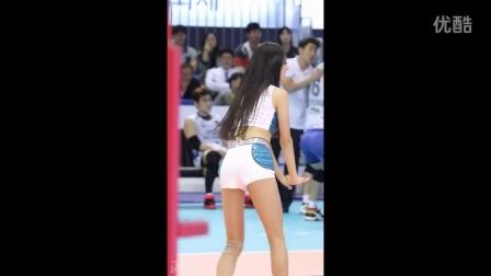 啦啦队队长 朴姬兰热舞 火辣舞蹈热场表演 1510