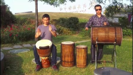 刘雍非洲鼓教学 很实用的练习方法 对话练习2