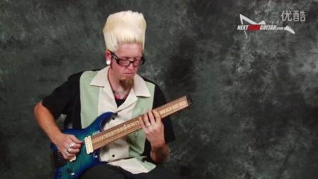 Carvin Kiesel Vader V8 headless  guitar review