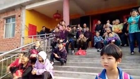 彭泽县棉船镇新洲村老年协会2015重阳节文艺汇演