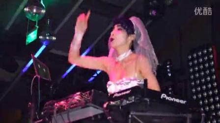 美女 音响师 dj  天津 酒吧 2015万圣节 索尼rx10微单