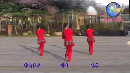 陸川葉青廣場舞 花幺妹兒 背面