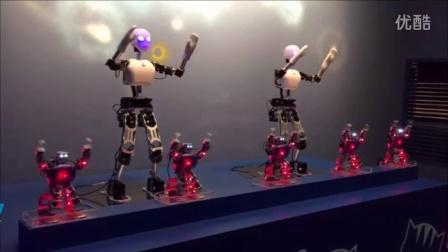 UXA90-Light多功能人形机器人舞蹈03 北京智能佳机器人舞蹈表演