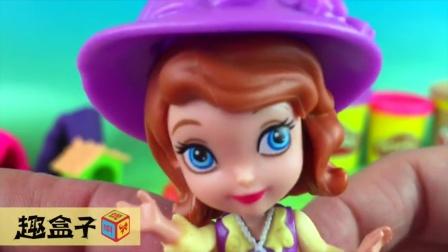 迪士尼公主城堡培乐多小手工 冰雪女王的裙子自制游戏视频 小猪佩奇 火影忍者 奥特曼