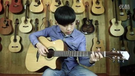 蓝莓吉他弹唱教学 第47课《吉他弹奏时力度强弱的重要性》