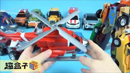 TOBOT 韩国 变形金刚 跑车 恐龙 玩具 试玩