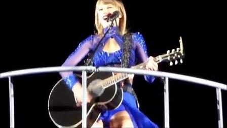 好莱坞女歌手Taylor Swift 秀美臀