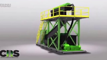 CRS Reprocessing Oil & Gas Skid Animation - YouTube