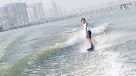 2015第二届中国沂河国际滑水公开赛男子公开组决赛IWWF Linyi 2015 part 4