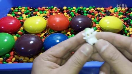 五彩奇趣蛋五彩巧克力糖豆朵拉历险记狮子王