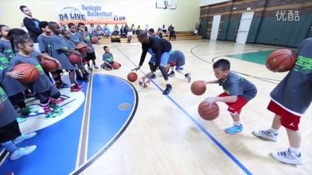 美国少儿篮球特训视频