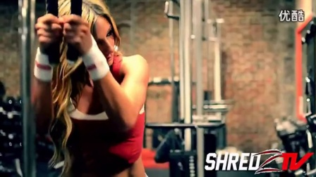 女性健身励志视频