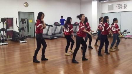 20160118韩国女团《hello venus》舞蹈练习室