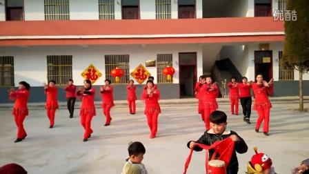安徽省萧县张庄寨镇综合文化站在袁圩组织文化活动
