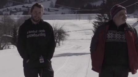 小伙伴们去滑雪!给你飞最大最大的坡!Sebi Geiger