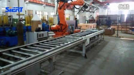 电梯层门板搬运点焊生产线2