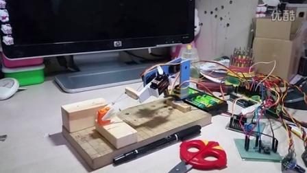 仿制微型伺服示教机器人 micro servo robo