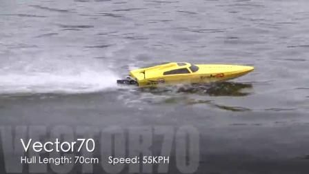 时速50km!! 欧兰斯又一高速船力作Vector70 #792-1