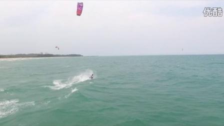 2016年3月9日博鳌风筝冲浪航拍