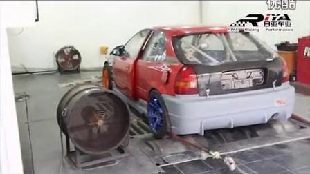 本田EK移植K20A turbo调车 439匹
